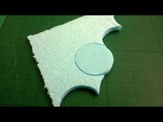 (Image of foam circle from foam block)
