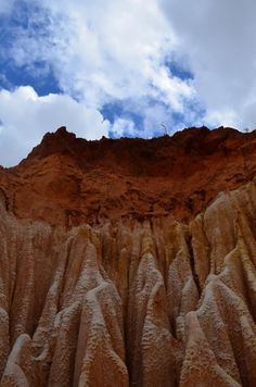 The Red Tsingy in Madagascar (taken 08.11)