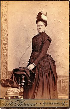 Unknown Woman, circa 1886 | Flickr - Photo Sharing!
