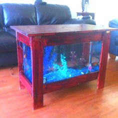 How to build how to make your own coffee table fish tank for Make your own fish tank