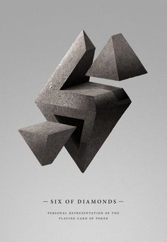 Six of Diamonds by Manel Portomene