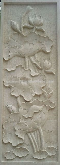 relief murals peony - Google Search Plaster Crafts, Plaster Art, Plaster Walls, Sculpture Painting, Wall Sculptures, Ceramic Wall Art, Ceramic Pottery, Paper Clay, Clay Art