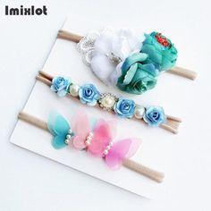 3pcs- Lace Ribbon Headbands