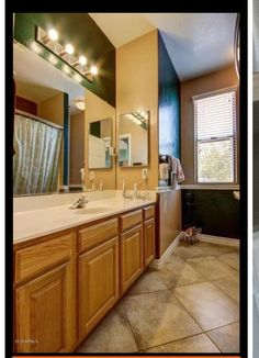 So we moved into our home and I hated the guest bathroom it was painted so many different dark colors. But with the expense of moving and other areas needing redone I only had about Cheap Bathroom Makeover, Bathroom Makeovers On A Budget, Budget Bathroom, Bathroom Ideas, Bathroom Inspiration, Bling Bathroom, Bathroom Designs, Luxury Vinyl Tile Flooring, Bathroom Flooring