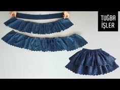 Baby Frock Pattern, Frock Patterns, Baby Girl Dress Patterns, Girls Dresses Sewing, Frocks For Girls, Little Girl Dresses, A Line Skirt Pattern, Leelah, Kids Dress Wear