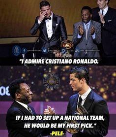 Ronaldo, the champ. Cristano Ronaldo, Cristiano Ronaldo Cr7, Neymar, Real Madrid Images, Funny Soccer Memes, Ronaldo Quotes, Softball Problems, Football Jokes, Softball Quotes