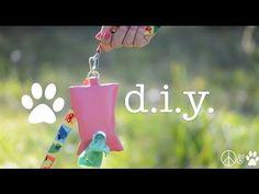 ▶ DIY Dog Waste Bag Dispenser - YouTube