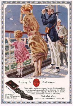 Allen A hosiery and underwear