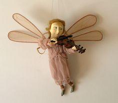 Elf with a violin Dolls