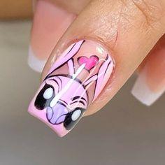 Disney Collage, Press On Nails, Foto Bts, Hair, Diamond Nails, Nail Art Tutorials, Disney Nails, Diy Canvas Art, Bright Gel Nails