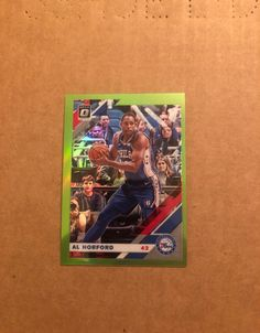 Al Horford Optic #114/149. Card will ship in bubble wrap envelope. Al Horford, Bubble Wrap Envelopes, Nba Sports, One Piece Suit, Trading Cards, Badge, Ship, Baseball Cards, Badges