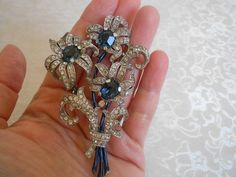 Incredible Vintage Trifari Signed Fur Clip Circa 1941! Amazing, Rare Piece! At Vintage Addiction Jewelry Ebay Store!