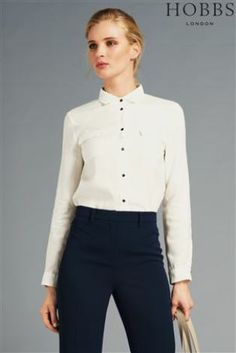 Hobbs Womens Fitted Shirt