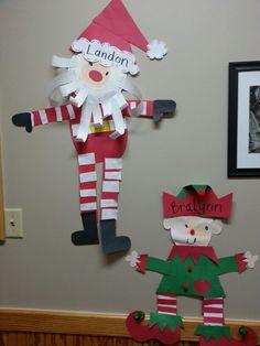 Santa and his elf