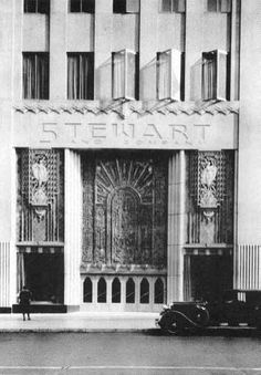 Endangered NYC - Lost & Threatened Treasures. Stewart and Company building, 725 Fifth Avenue at East 56th Street, Warren & Wetmore, 1929.