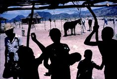 HAITI—In the arid northwest of the island, 1987.    © Alex Webb / Magnum Photos
