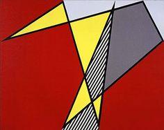 Roy Lichtenstein - Perfect Painting (1978) Roy Lichtenstein, Industrial Paintings, Comic Book Style, Tattoo Project, Z Arts, Art Institute Of Chicago, All Art, Modern Art, Fine Art