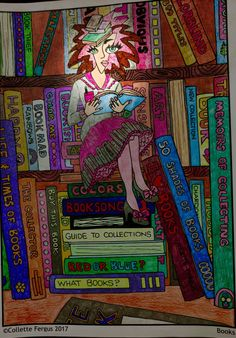 Chardonnay Minx-Collector of Things Soon to be Released Pinball, The Collector, Painting, Image, Design, Art, Art Background, Painting Art, Kunst