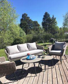 My new Scandinavian outdoor furniture☀️👌 #jysk