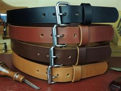 MODEL: 1 Heavy Duty Leather Work Tool Holster Belt Description: Heavy Duty Leather Work Belt, hand crafted from 12 to 13 oz. Best Leather Belt, Leather Belt Buckle, Leather Belts, Gun Holster, Holsters, Work Belt, Casual Belt, Belt Pouch, Leather Bifold Wallet
