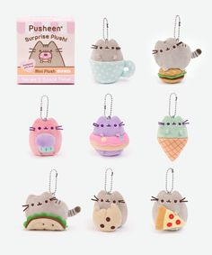 Pusheen Surprise Plush Blind Box // I caved and purchased four ;_;, I hope I get the doughnut one!