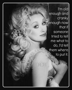 Dolly Parton: Introduction. Dolly Rebecca Parton is seventy years old. One reason I thought that she would be an interesting subject is that despite her age, she continues to be a prominent figure in country music and a successful entrepreneur. Additionally, I know that her physical development will be abnormal as compared to other members of her cohort because of plastic surgery. I am interested to learn more about her and see how she compares to average in other areas of development.