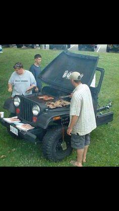 Jeep grill!!