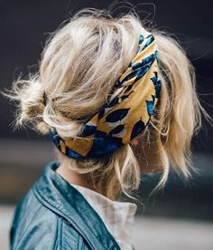headband scarf.