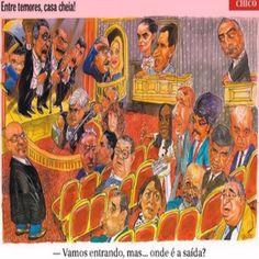 Charge do Chico [Capa do Jornal O Globo de 16/06/2016] ②⓪①⑥ ⓪⑥ ①⑥ #BrazilCorruption