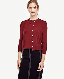 Image of Cropped Ann Cardigan
