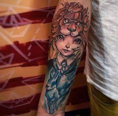 Luna Lovegood tattoo