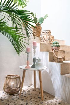 Wood, pastel colors and - Decoration For Home Deco, Room Decor, Decor, House Interior, Home, Interior, Bamboo Decor, Home Decor, Stairs Colours