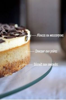 A little sweet pear for the birthday of Mr Pause Gourmande - Dessert Recipes Desserts With Biscuits, Köstliche Desserts, Delicious Desserts, Yummy Food, Sweet Recipes, Cake Recipes, Dessert Recipes, Food Tags, Pastry Cake