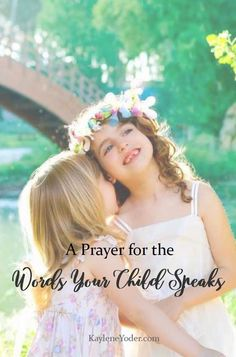 This prayer is a sincere plea that the Lord would place a guard upon your child's lips, so that the words they speak may bring life.