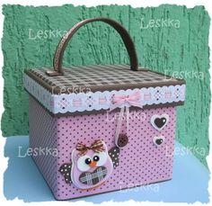 Eva Art - Leskka Diy Birthday, Birthday Gifts, Owl Fabric, Messy Room, Decorate Notebook, Origami Easy, Craft Box, Cute Diys, Diy Box