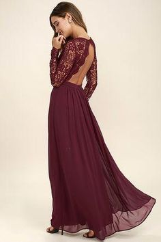 3c84144cb2a 12 Best burgundy lace bridesmaid dresses images