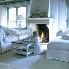 When Decorating: warm & comfy...
