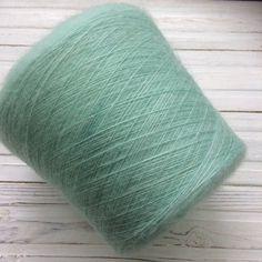 Kid silk мятный Throw Pillows, Silk, Knitting, Fabrics, Patrones, Tricot, Cushions, Breien, Fabric