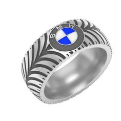 Mens Wedding Band For The Mechanic Or Car Lover Tire Rings Ring