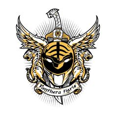 ALBUS PANTHERA TIGRIS T-Shirt $12 Power Rangers tee at Once Upon a Tee!