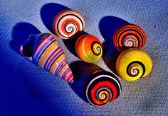 polymita snail - Google Search  Called the most beautiful snail in the world, found only in Cuba.