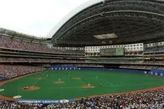 Toronto Blue Jays Stadium-Skydome! Saw a playoff game in the early 90s btwn Jays and White Sox with Uncle Dan and Gramps