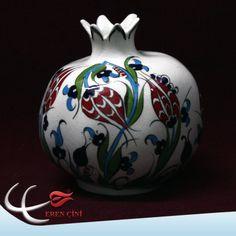 ceramic pomegranate