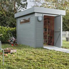 Abri de jardin en bois Nivala NATERIAL, 4.83 m², ép. 19 mm