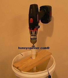 DIY honey spinner
