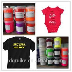 I give you high end NON PVC environmental PLASTISOL screen printing INK