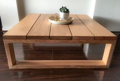 The perfect accompaniment to our dining table, The Plank Coffee Table is made from locally sourced, feature grade, Victorian Mountain Ash and. Unique Coffee Table, Rustic Coffee Tables, Diy Coffee Table, Decorating Coffee Tables, Wooden Coffee Table Designs, Timber Furniture, Diy Furniture Plans, Woodworking Furniture, Table Cafe