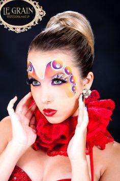 MUA Kris Xiva - Figurino Gilda Menezes - Studio Le Grain - Cabelo: Rose Gomes - Moda - Fashion -Belo Horizonte - Cursos de Maquiagem LE GRAIN