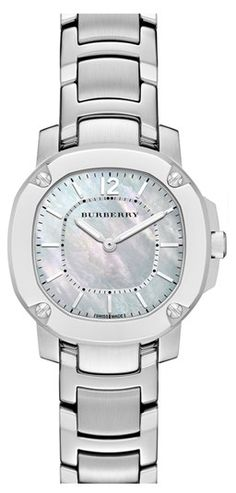 Burberry The Britain Mother-of-Pearl Bracelet Watch http://rstyle.me/n/fe9q7nyg6