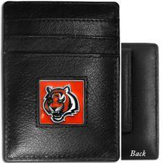 Cincinnati Bengals Money Clip Card Holder